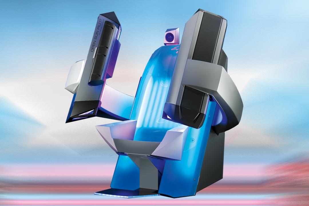 6 krachtige gezichtsbruiners • 2 high pressure handbruiners • ergonomisch gevormde relaxzetel • comfort cooling