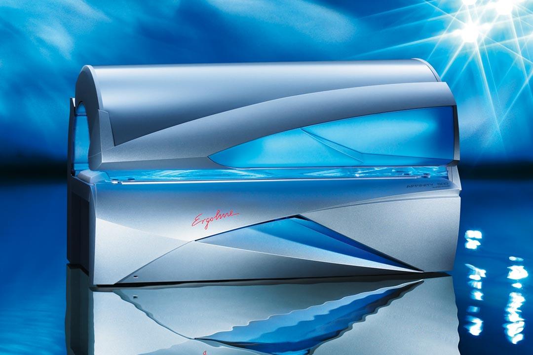 43 Lampen • 3 Gezichtbruiners • Aromatherapie Aquanevel • Sound system • Comfort ligvlak • Voice guide • Schouderbruiner